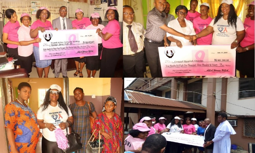 Newspaper publication Cheque for surgeries to indigent patients in Anambra State