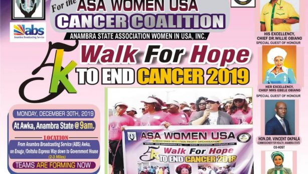 5K Walk/ Run for Hope to End Cancer, Awka 2019